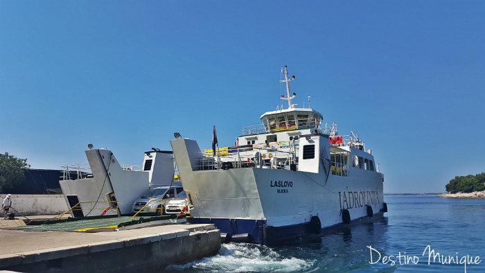 Croacia-Hvar-Ferry