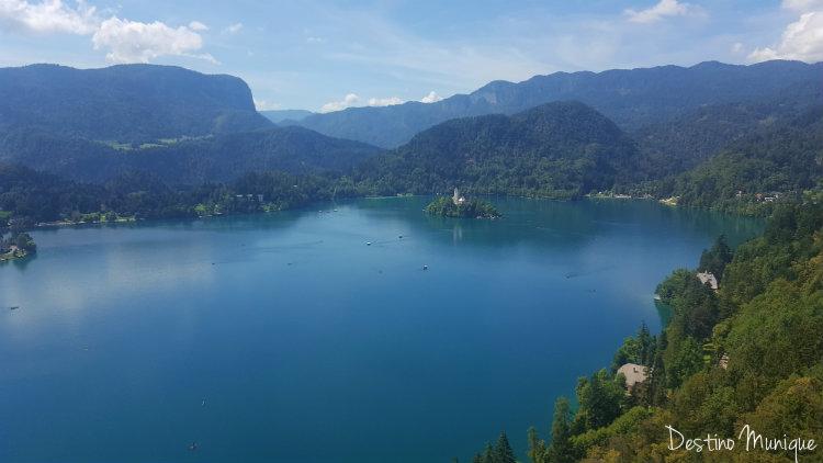 Eslovenia-Bled-Vista-Castelo