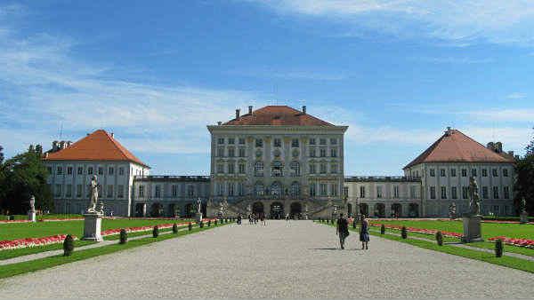 Guia brasileira em Munique, Tour Palácio Nymphenburg