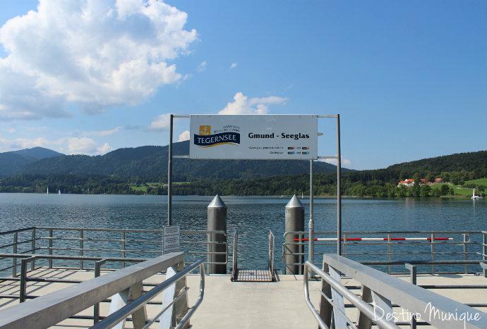 Tegernsee-Barco-Alpes-Passeio