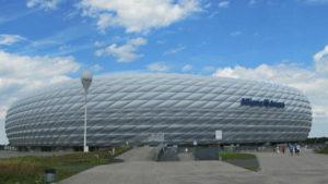 Guia brasileira em Munique, Tour Allianz Arena