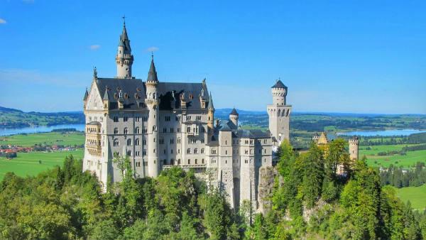 Guia brasileira em Munique, Tour Castelo Neuschwanstein