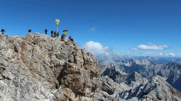 Guia brasileira em Munique, Tour Zugspitze