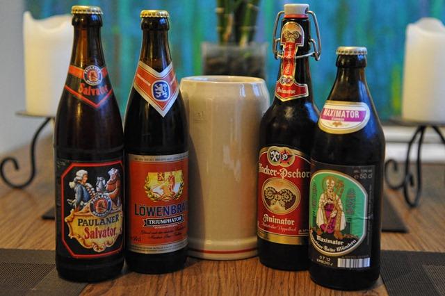 Starkbierfest-Munique-Cervejas