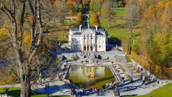 Palácio Linderhof, dicas. guia brasileira na Alemanha, guia brasileira em Munique