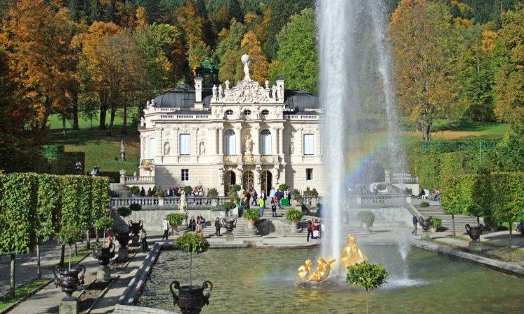 Palacio-Linderhof-Baviera