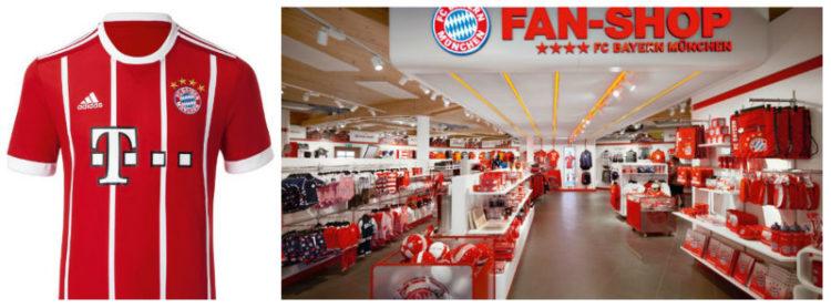 Souvenirs-Munique-Bayern-Camisa