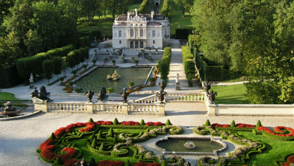 Tour com guia brasileira em português palácio Linderhof, Alemanha