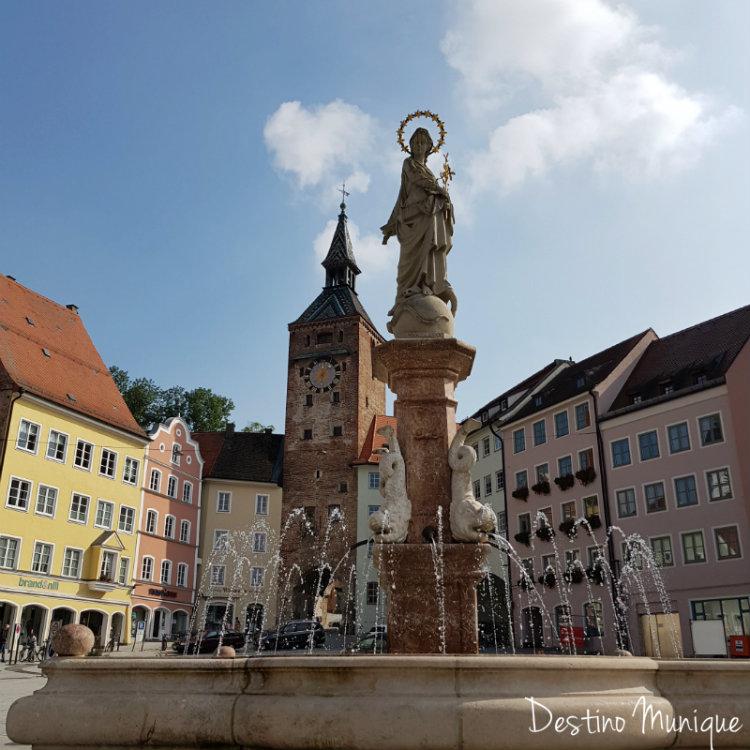 Landsberg-Marienbrunnen-Schamlzturm