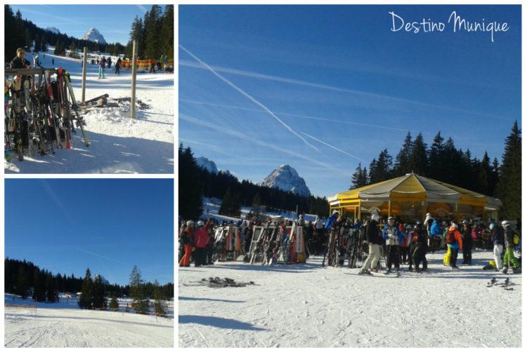 Garmisch-Esqui-Alemanha