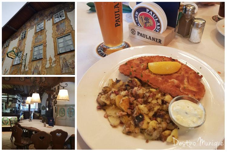Mittenwald-Alpenrose-Restaurante
