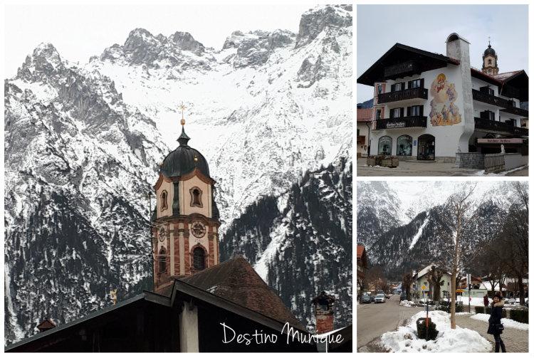 Mittenwald-Alpes-Inverno