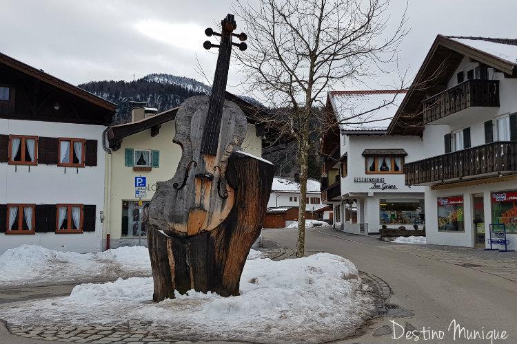 Mittenwald-Rota-dos-Alpes-Violinos