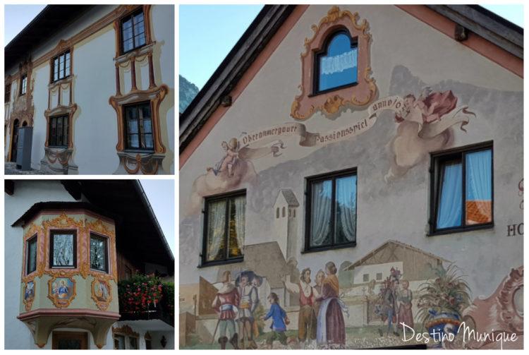 Oberammergau-Afrescos-Fachadas