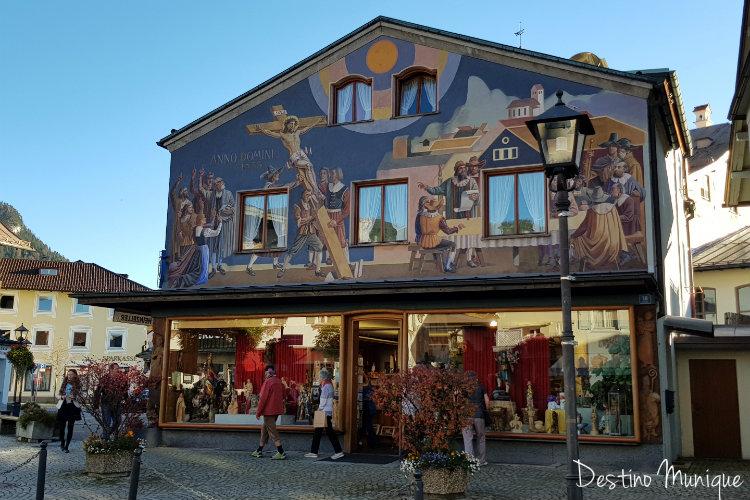 Oberammergau-Alemanha-Alpes