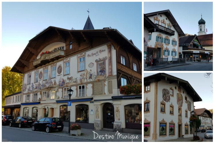 Oberammergau-Casas-Afrescos