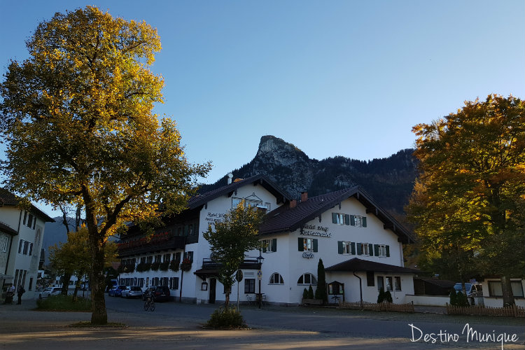 Oberammergau-Kofel-Alpes