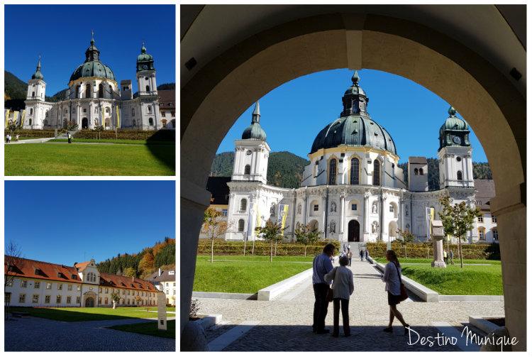 Ettal-Abadia-Bavaria