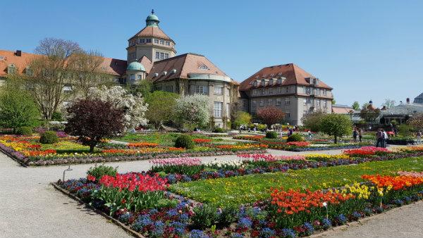 Jardim Botânico de Munique, Alemanha, Guia brasileira em Munique