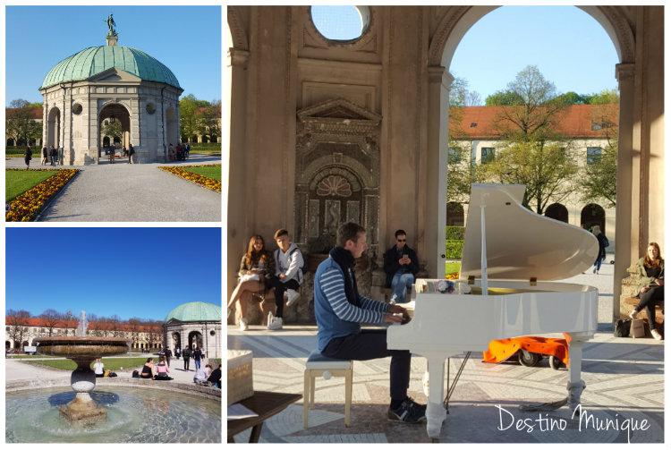 Primavera-Munique-Hofgarten