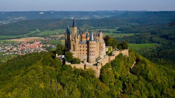 Castelo de Hohenzollern, Alemanha, Baden-Württenberg, guias brasileiras na Alemanha