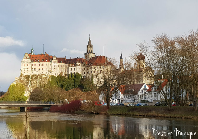 Sigmaringen-Castelo-Danubio