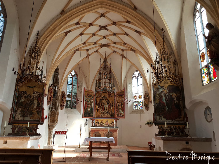 Castelo-Blutenburg-Igreja