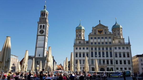 Augsburgo, dicas, Rota Romântica, Augsburg, Guia brasileira na Alemanha