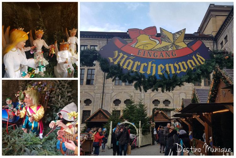 Weihnachtsdorf-Marchenwald-Munique