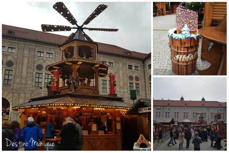 Weihnachtsdorf-Residenz-Munique
