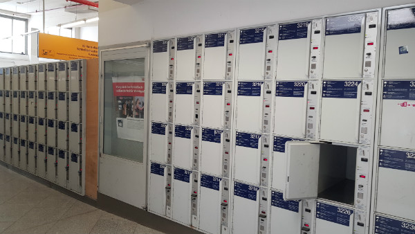 Guarda-volumes em Munique, estação de trem, dicas