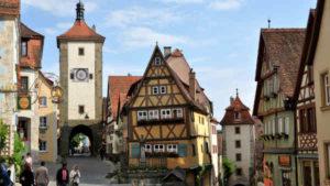 Guia brasileira em Munique, Tour em Rothenburg ob der tauber